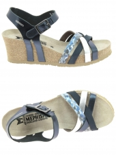 nu-pieds style casual mephisto lanny bleu