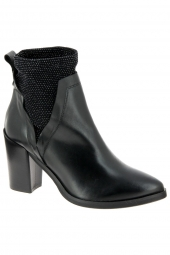 bottines fashion metisse sa1042 noir