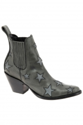 boots de style western mexicana circus 2 gris