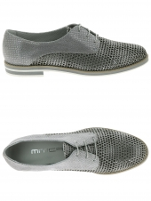 chaussures plates mitica 29213 gris