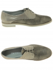chaussures plates mitica 29213 taupe