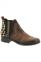 bottines fashion mlv soraia 04 marron