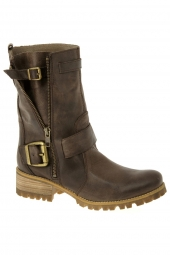 bottes mi-mollets mtng 50016 taupe