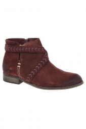 bottines fashion mtng 51150 bordeaux
