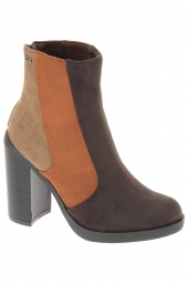 bottines fashion mtng 51530 marron