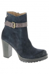 bottines fashion mtng 97166 bleu