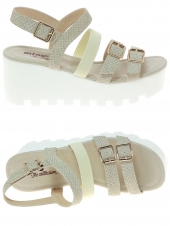 nu-pieds style casual mtng 52173 beige