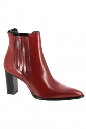 bottines de ville muratti amyna rouge