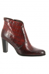 bottines de ville muratti ranson rouge