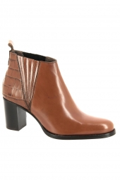bottines de ville muratti rayne marron