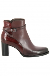 bottines de ville muratti redondo bordeaux