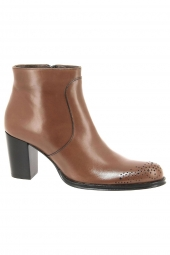 bottines de ville muratti t0306a marron