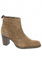bottines de ville muratti t0335b marron