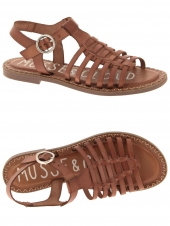 nu-pieds musse & cloud lucia marron