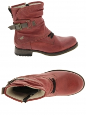 boots fourres mustang 5026607 rouge