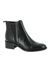 bottines de ville myma 3402my-00 noir
