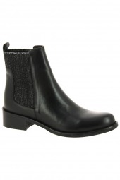 bottines de ville myma 3413my-00 noir
