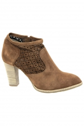 bottines d'ete myma 2913my marron