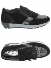 chaussures plates myma 3528my-05 noir