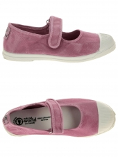 chaussures en toile natural world mercedes enzimatico rose
