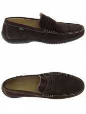 loafers paraboot cabrio marron