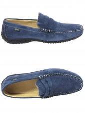 loafers paraboot cabrio bleu