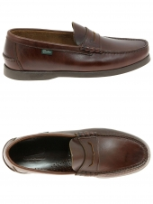 loafers paraboot coraux marron