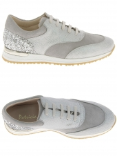 chaussures plates patricia miller 650 gris