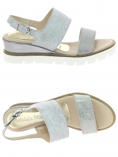 nu-pieds style casual patricia miller 1251-724 argent
