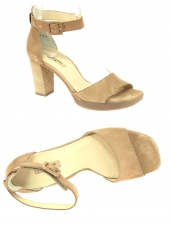 nu-pieds style ville paul green 7618-008 taupe