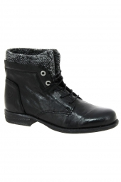 bottines fashion post xchange jessy 811 noir