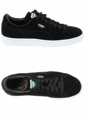baskets mode puma suede classic noir