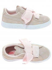 chaussures basses puma heart valentine rose
