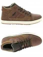 chaussures montantes fourrees rapid soul j4381-ab574 marron