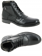 boots redskins noyer noir