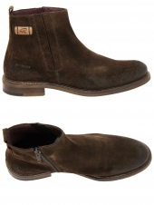 boots ville redskins devic marron