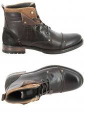 boots redskins yedes marron