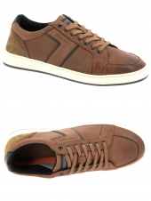 chaussures de style casual redskins main marron