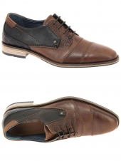 derbies redskins barbu marron