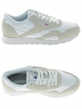 baskets mode reebok classic nylon blanc