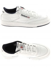 baskets mode reebok club c85 blanc