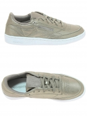 baskets mode reebok club c85 melted or/bronze