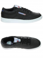 baskets mode reebok club c85 so noir