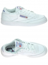 baskets mode reebok club c85 so blanc