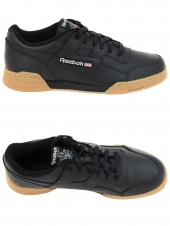 baskets mode reebok workout plus noir