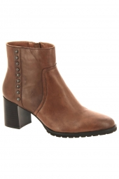 bottines de ville regarde le ciel cady 17 marron