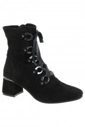 bottines de ville regarde le ciel illary-01 noir