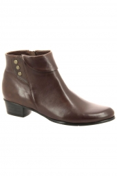 bottines de ville regarde le ciel stefany 186 marron