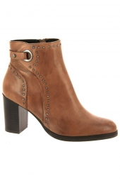 bottines fashion regarde le ciel adria 09 marron