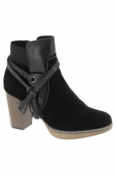 bottines fashion regarde le ciel mayra 03 noir